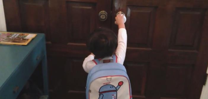 action movie kid part à l'école