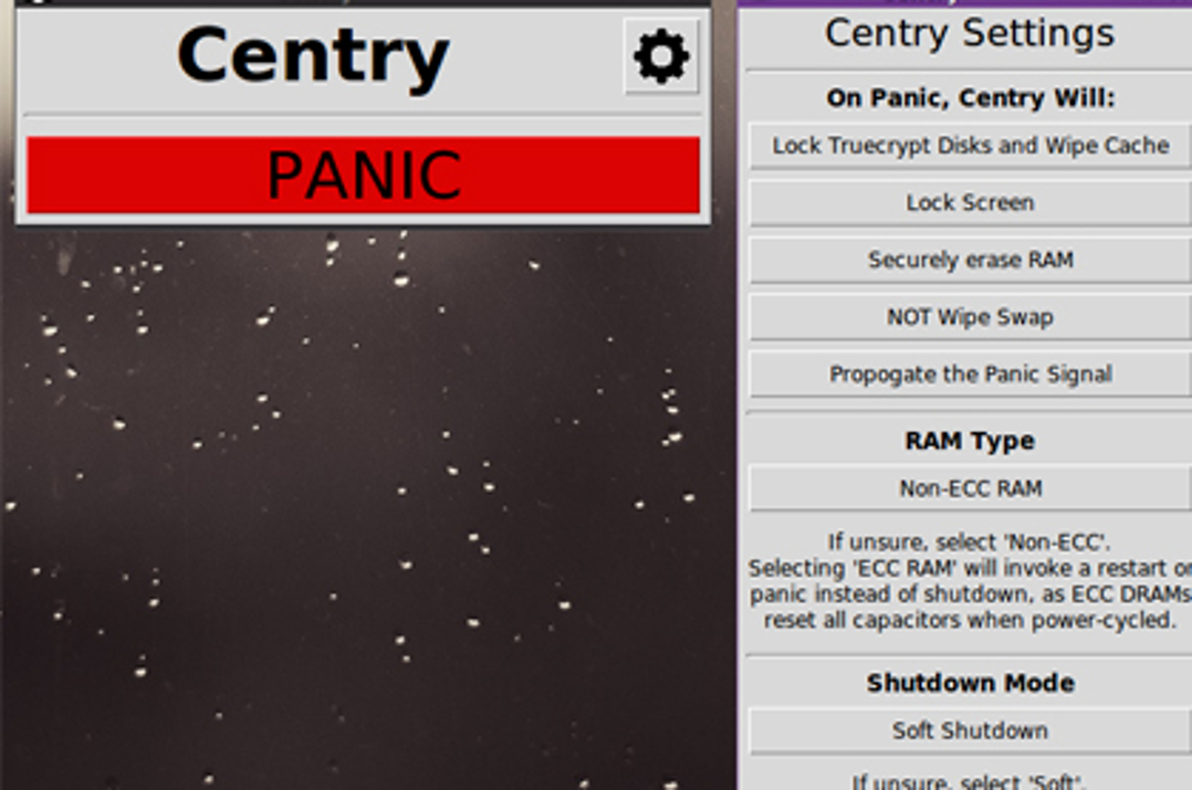 centry panic