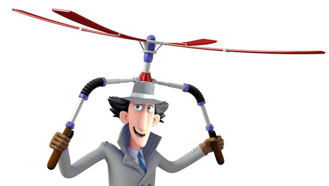 inspecteur gadget 3D