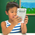 kids react game boy