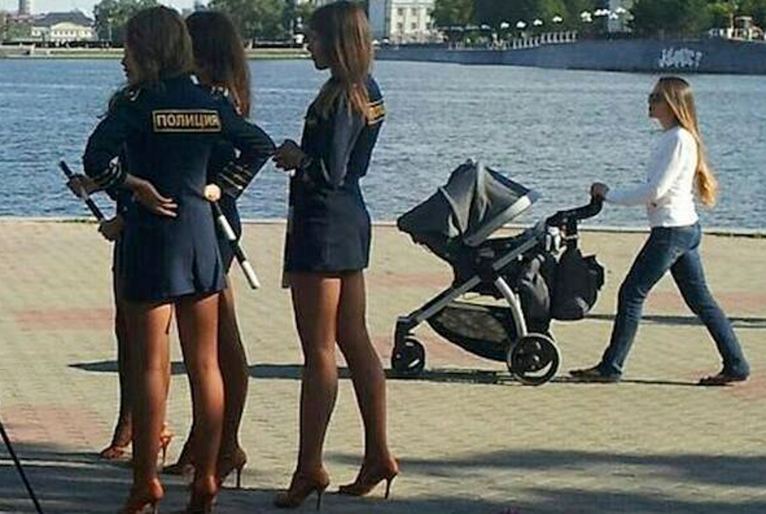 police russie hot