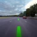 Jaguar pare-brise réalité virtuelle