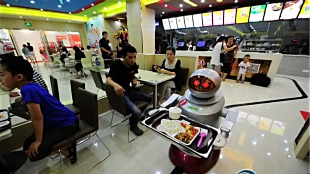 robots restaurant chine