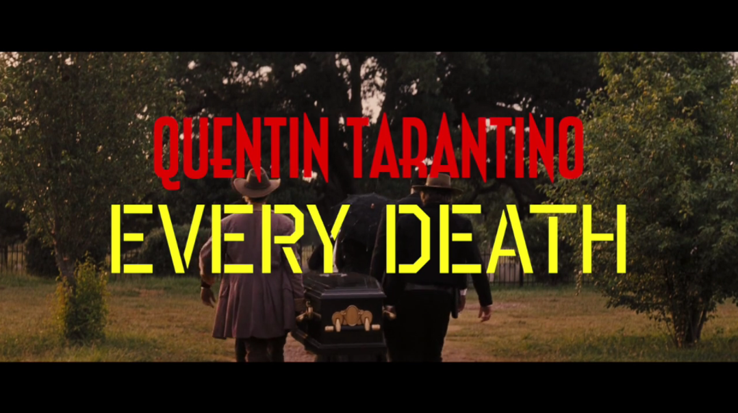 tarantino every death