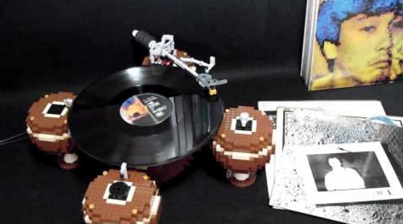 platine vinyle lego