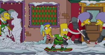 Simpson noël générique 2014