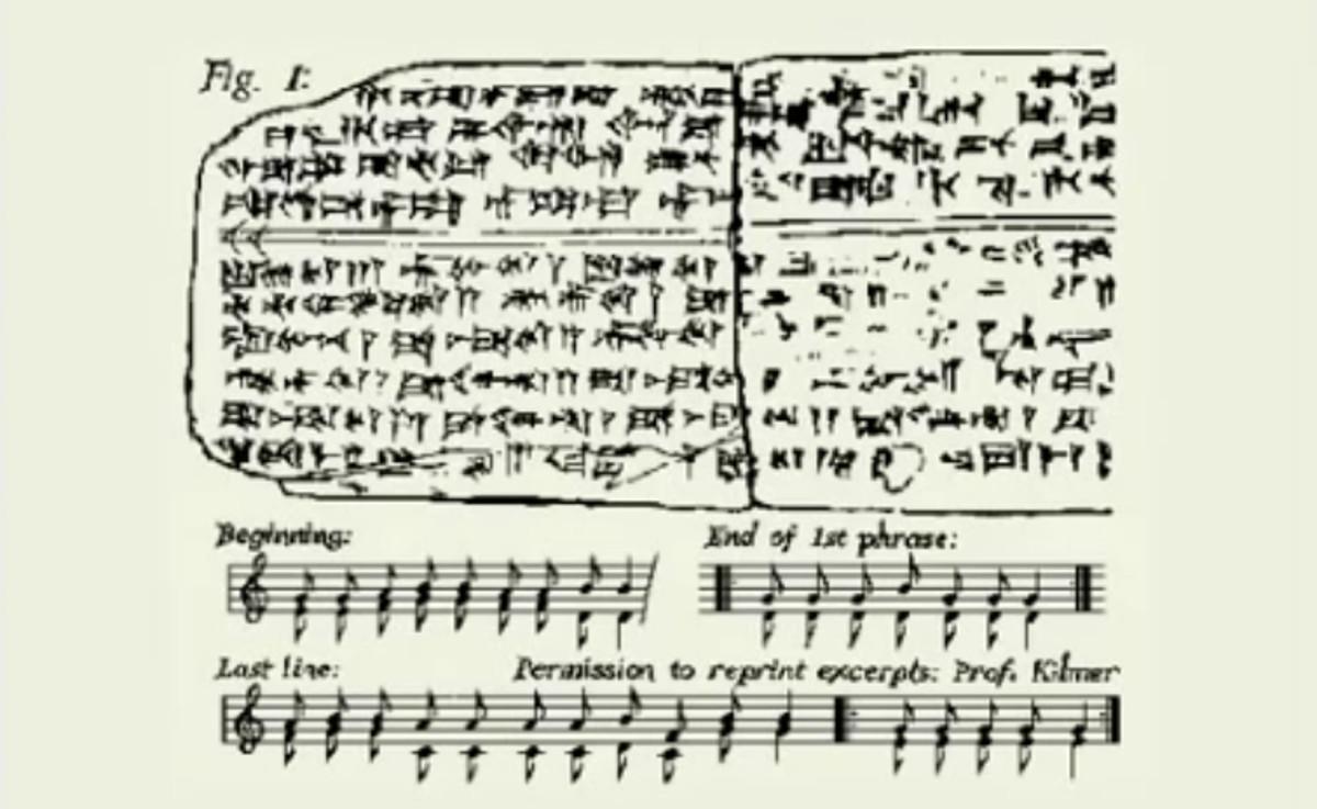 La plus ancienne musique au monde