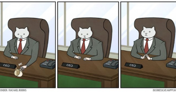 Les Aventures de business cat