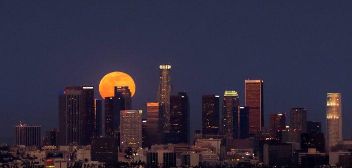 pleine lune timelapse