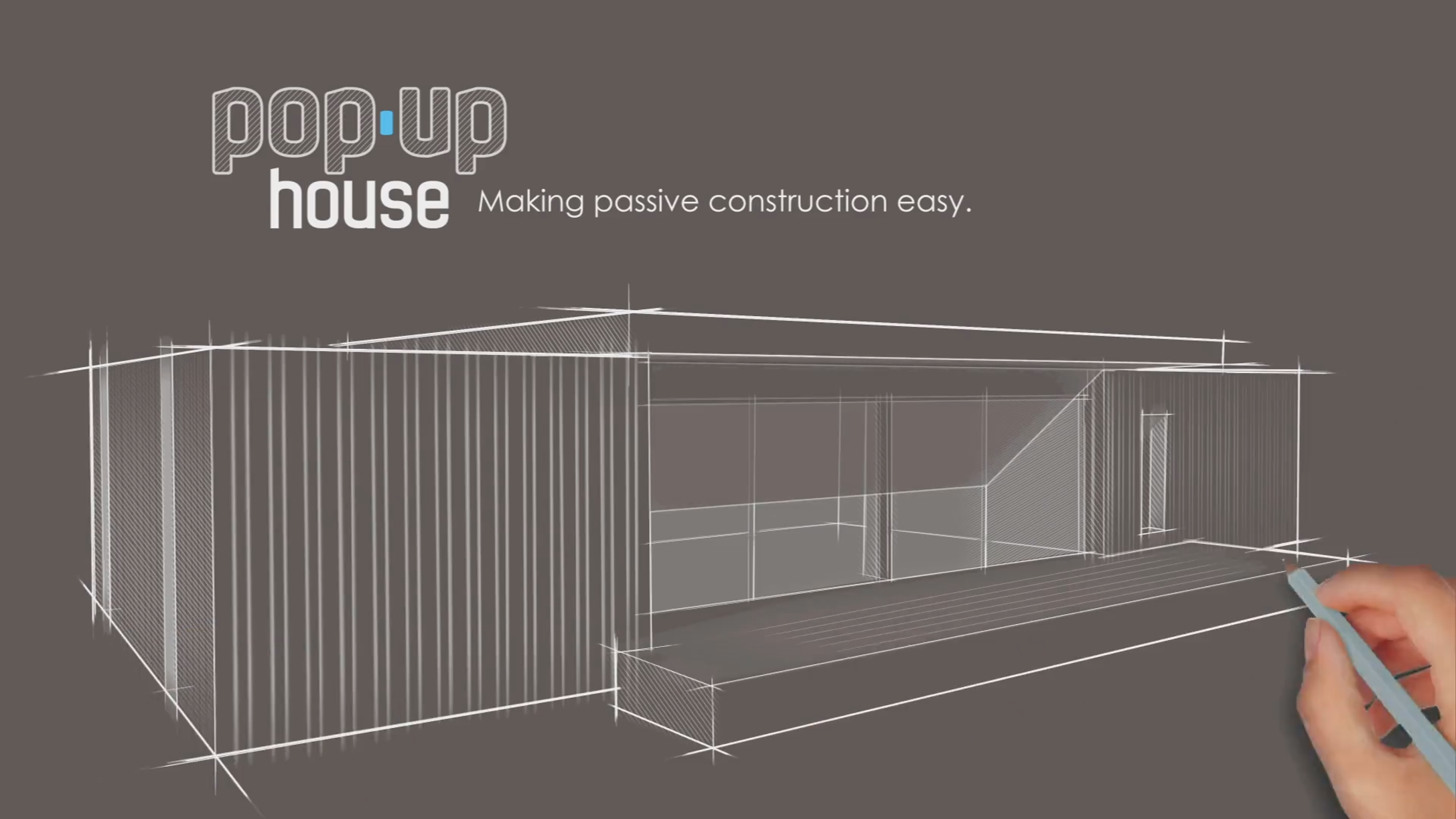 Pop up house la maison passive construite en 4 jours diazmag - Prix maison pop up ...