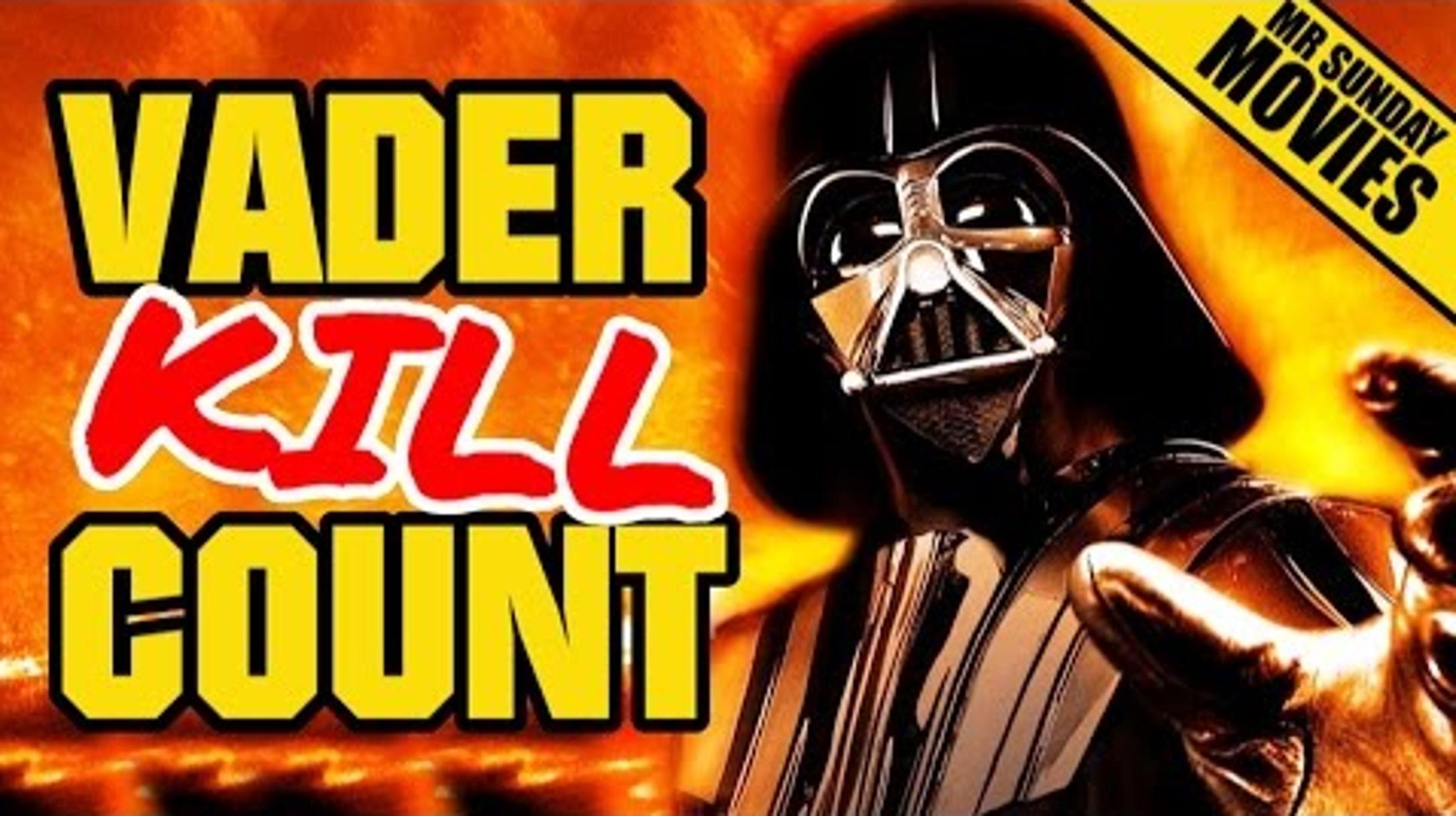 Vader Kill Count