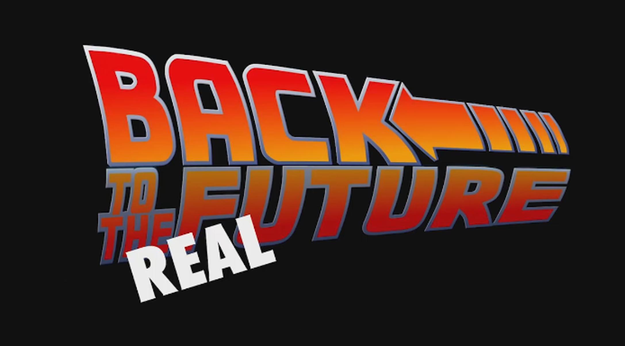 retour vers le futur en vrai